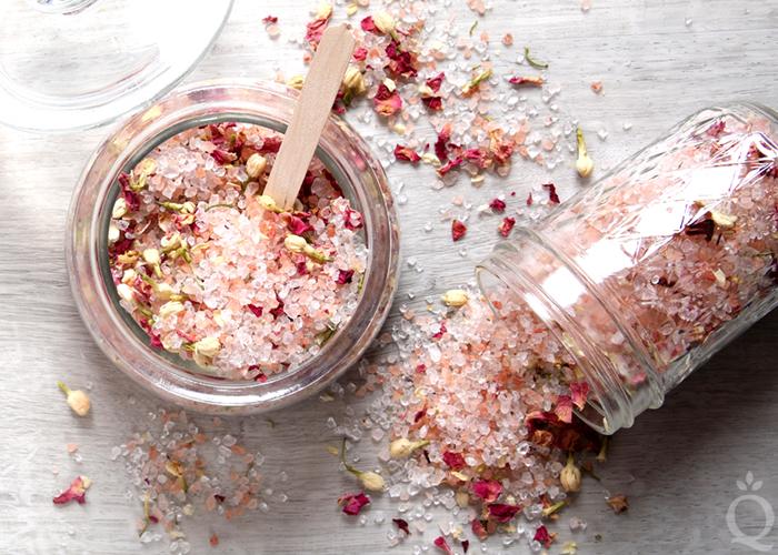 skincare pinktober craft ideas bath salts