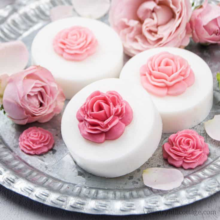 skincare pinktober craft ideas rose soaps