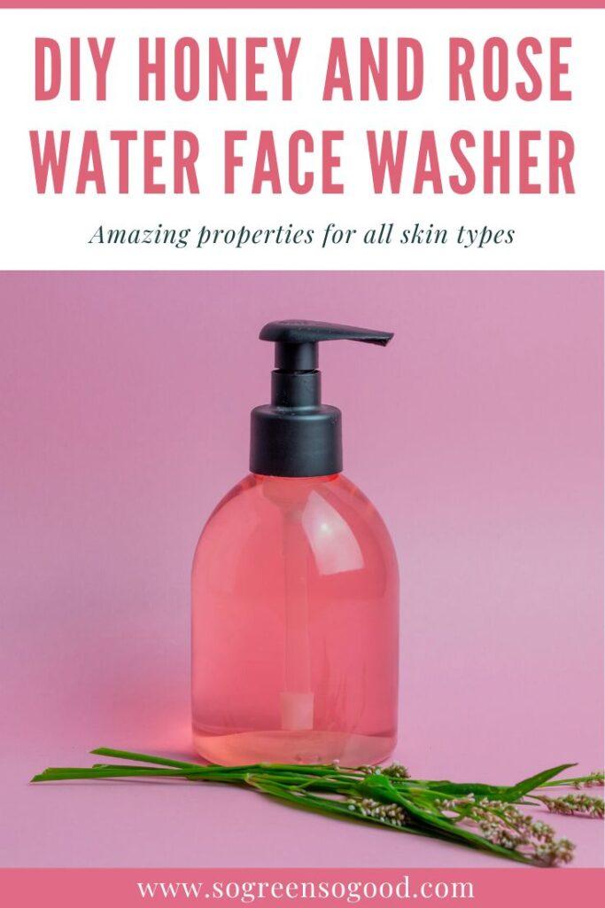 skincare pinktober craft ideas face wash
