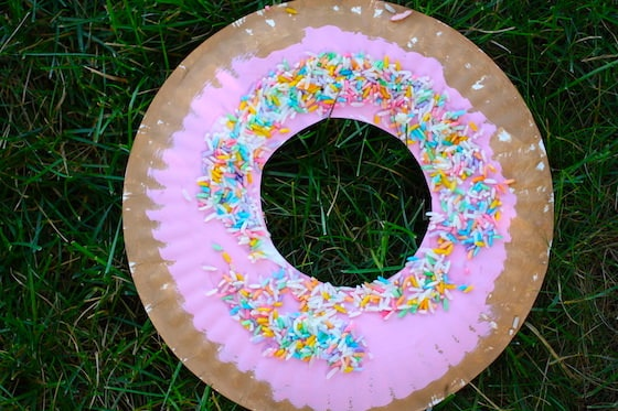 creative things to do for kids donut