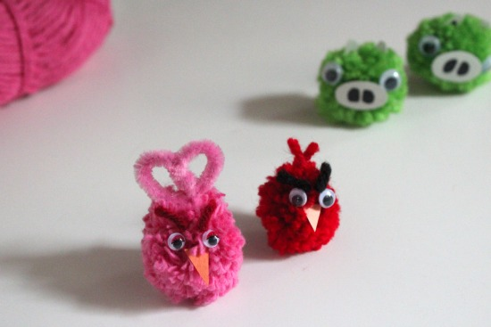 creative things to do for kids angry birds
