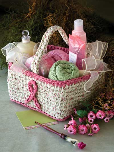 gift related creative things to do for pinktober basket