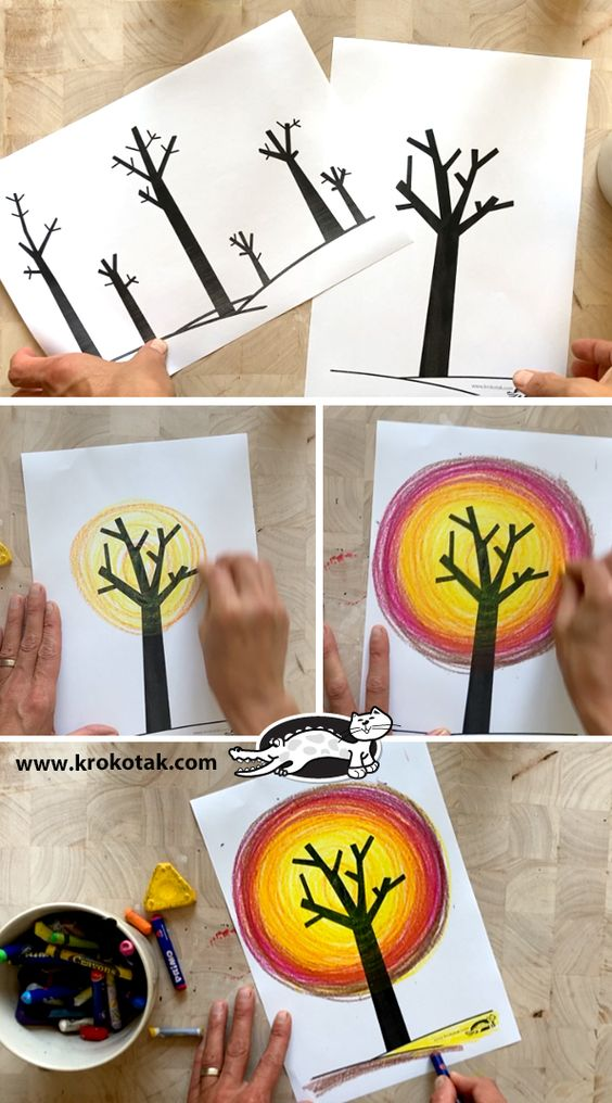 fall creative project ideas for teenagers fall art