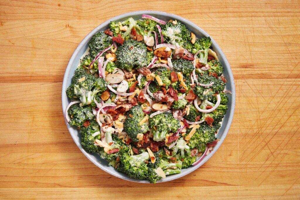 easy keto salad recipes broccoli salad