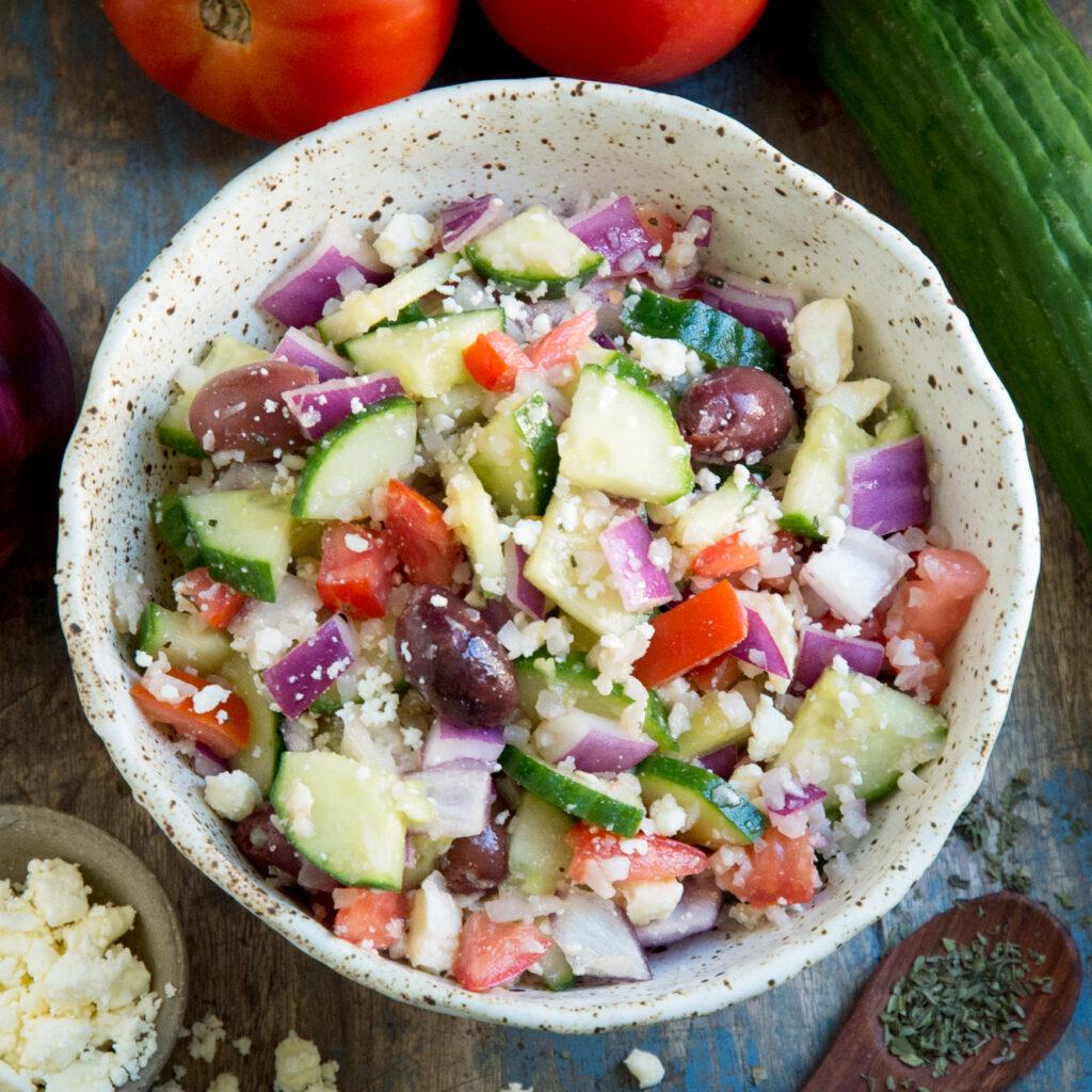 vegan keto salad recipes mediterranean