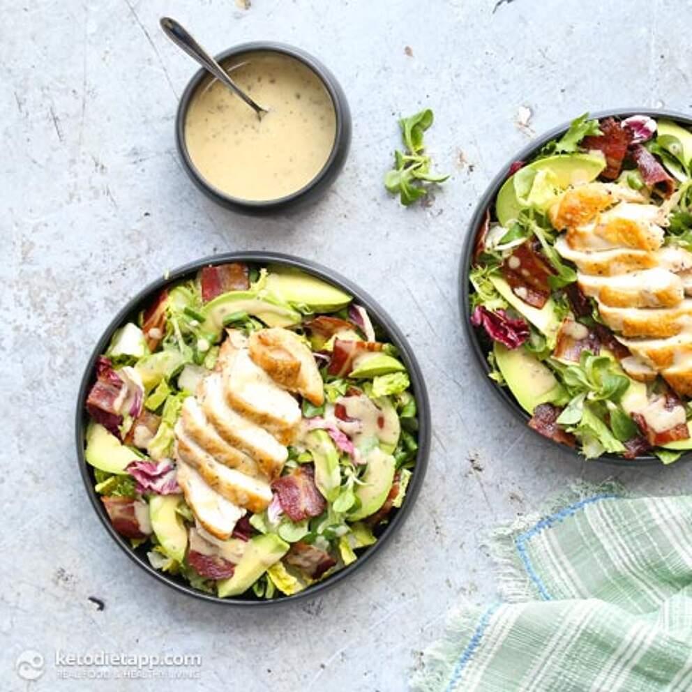easy keto salad recipes 5 ingredient salad