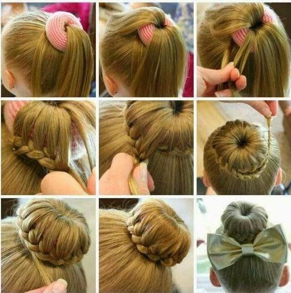 kids hairstyles for girls ballerina bun