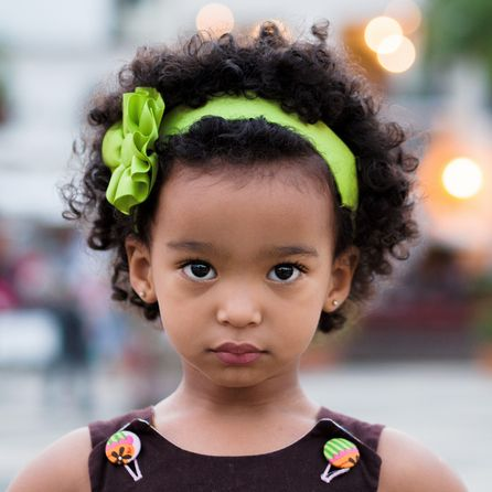 little girl hairstyles with accessories hair band