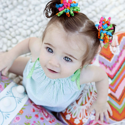 little girl hairstyles with accessories ponies