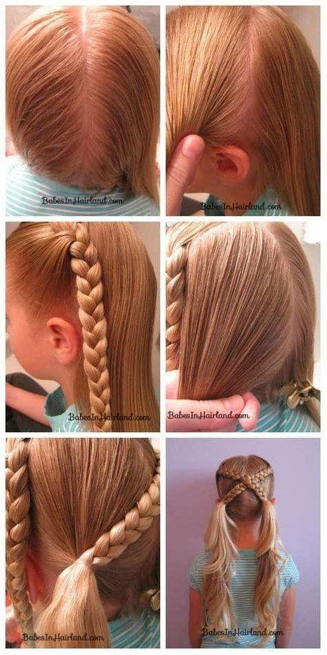 little girl braid hairstyles cross braids