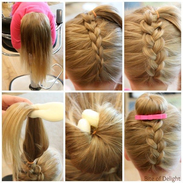 little girl braid hairstyles dutch braid bun