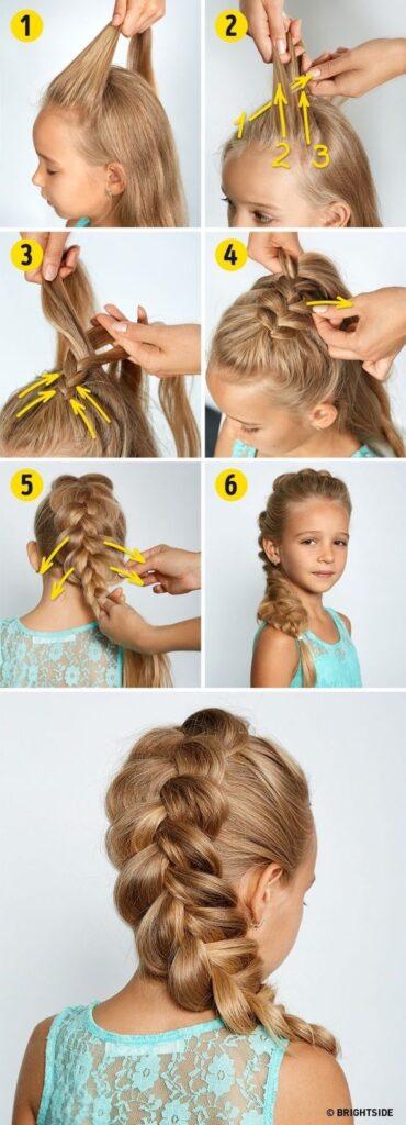 little girl braid hairstyles loose dutch braid