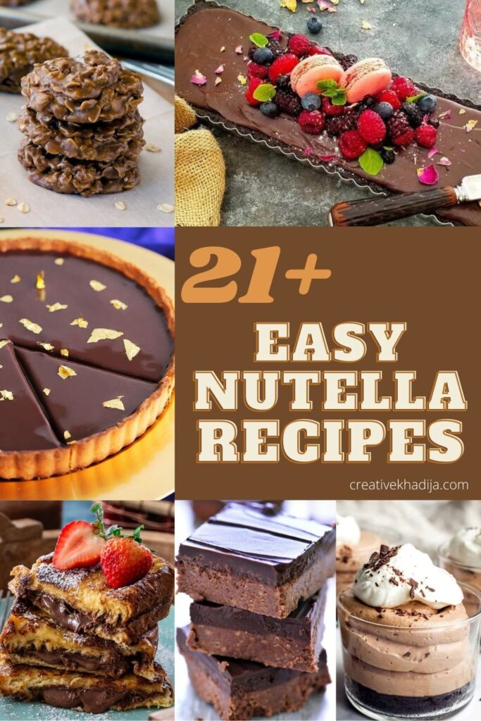 easy nutella recipes for you to try