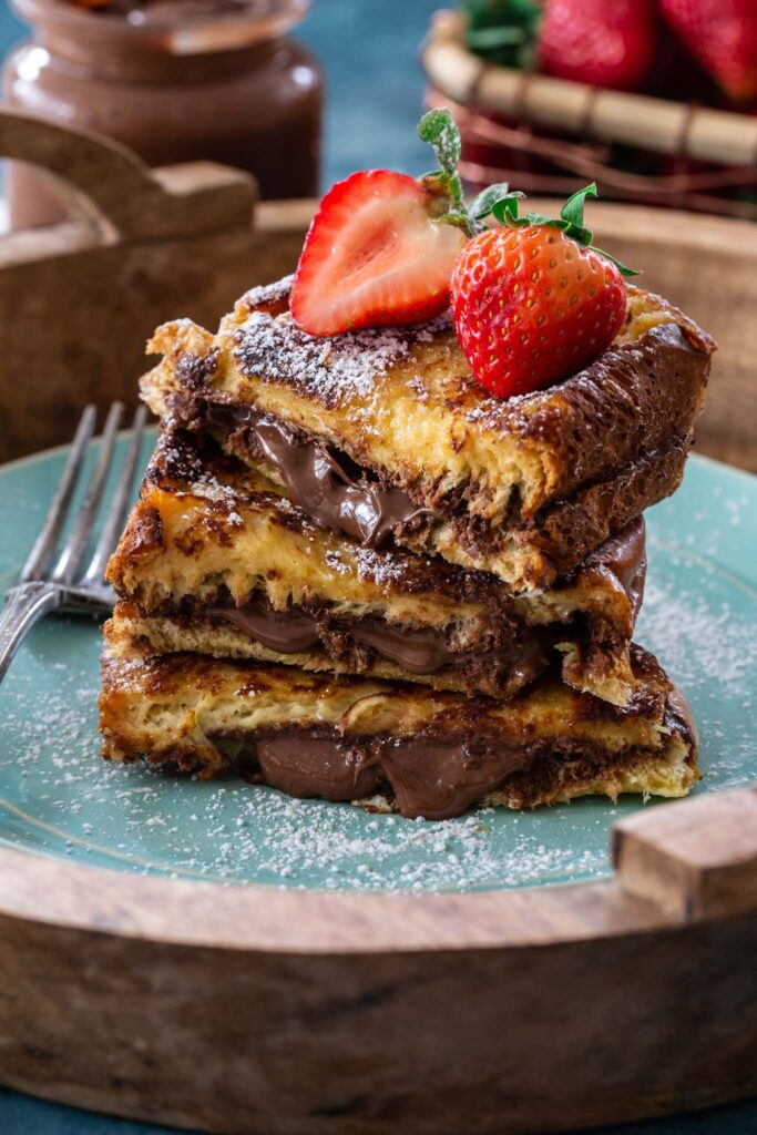 easy nutella recipes for breakfast french toast