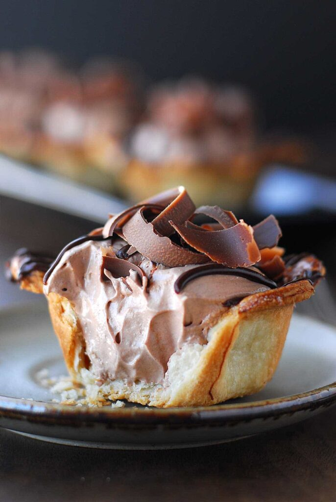 nutella desserts recipes mini pies