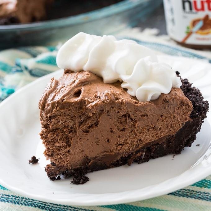 no bake easy nutella recipes pie